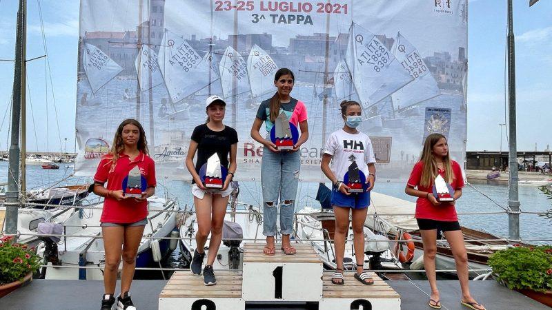 Circolo Vela Bari. Tre prove per tutti nella III giornata della tappa barese trofeo Optimist Italia Kinder Joy of Moving
