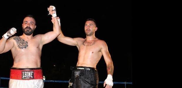 Successo della boxe a Mottola con il pro Castellano