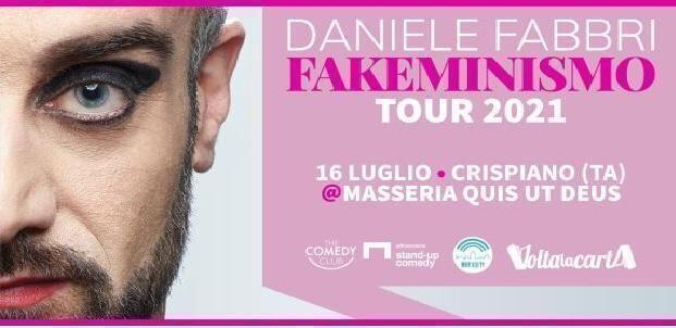 Daniele Fabbri alla rassegna Please Stand Up a Crispiano