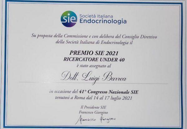 E' pugliese il miglior ricercatore in endocrinologia under 40 d'Italia