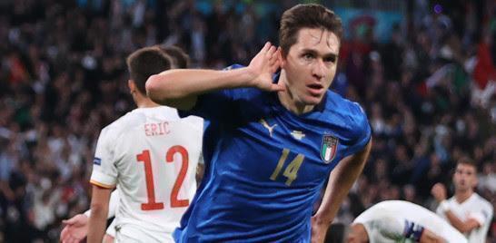 Italia di rigore, e' in finale. Con la Spagna soffre ma conquista Wembley