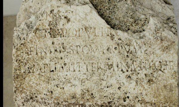 Torna alla luce a Roma un cippo dell'epoca di Claudio