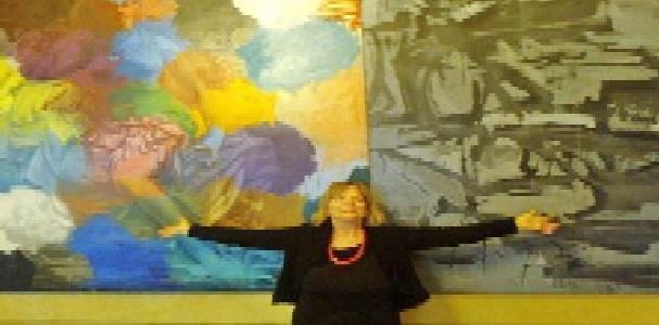 Eugenia Serafini veterana dell'Arte