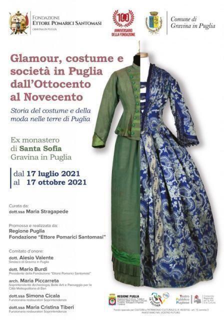 """""""Glamour , costume e società in Puglia dall' 800 al 900"""""""