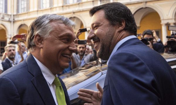 Il manifesto sovranista e l'ennesimo scontro tra Letta e Salvini