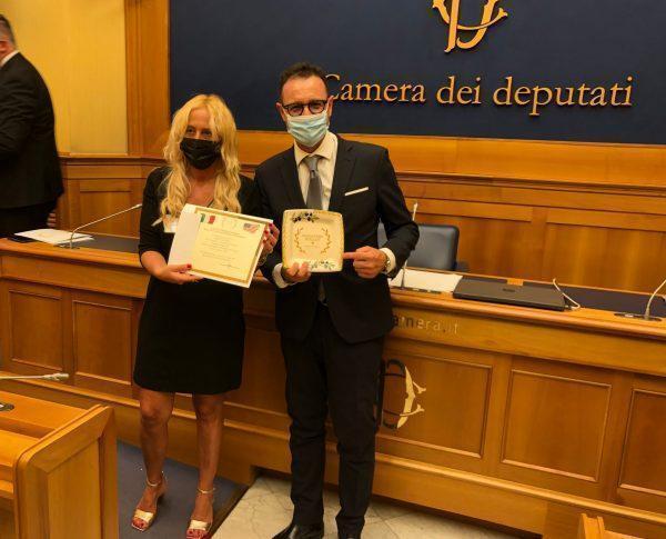 """Il progetto """"La Puglia da Sfogliare"""" premiato con un special Award alla Camera dei Deputati"""