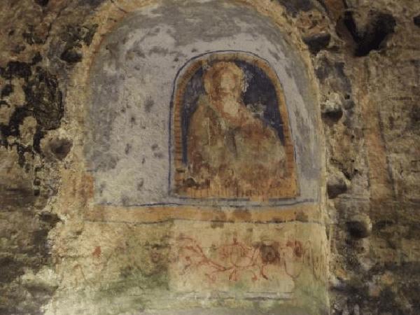 Le chiese rupestri di Matera e lo stupendo affresco di Sant'Agnese