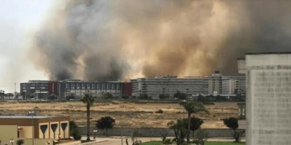 """Lecce – L'inferno alle spalle dell'ospedale """"Vito Fazzi"""""""