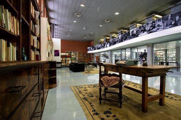 Sala Italo Calvino. La Biblioteca nazionale centrale di Roma ricostruisce il suo laboratorio di scrittura