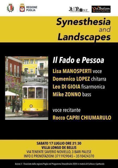 Ya Salam Apulia Festival. Synesthesia and Landscapes