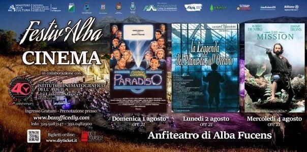 Il cinema ad Alba Fucens, maggio a Ennio Morricone