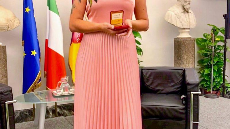 La talentuosa artista pugliese Irene Antonucci, conquista il Marateale 2021