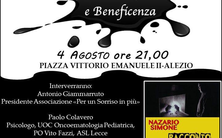Serata di musica e beneficenza per l'Oncoematologia Pedriatica di Lecce