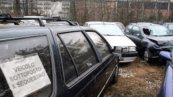 Censimento dei veicoli sequestrati, fermati, rimossi, dissequestrati e confiscati  (articolo 215-bis del Codice della Strada)