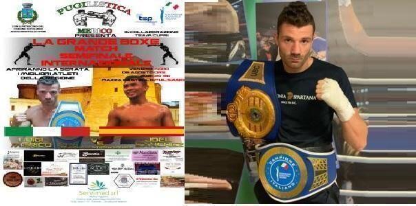 Luigi Merico torna sul ring per un match internazionale
